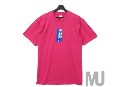 Supreme Payphone Tee Dark Pinkの写真