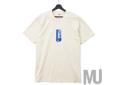 Supreme Payphone Tee Naturalの写真