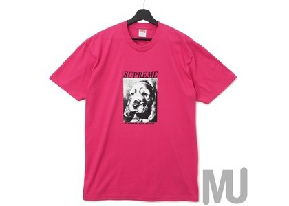 Supreme Remember Tee Dark Pinkの写真