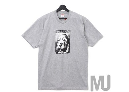 Supreme Remember Tee Heather Greyの写真