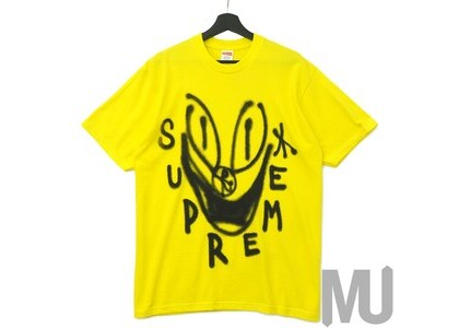 Supreme Smile Tee Yellowの写真