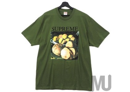 Supreme Still Life Tee Oliveの写真