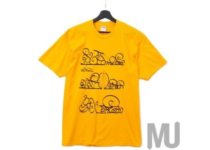Supreme System Tee Bright Orangeの写真