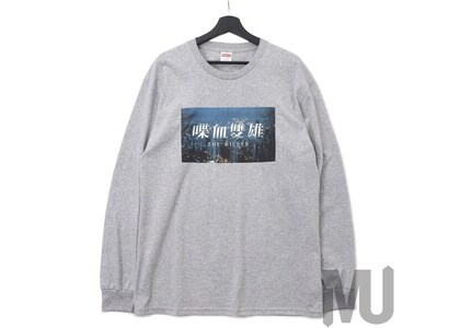 Supreme The Killer L/S Tee Heather Greyの写真