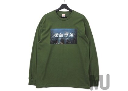 Supreme The Killer L/S Tee Oliveの写真