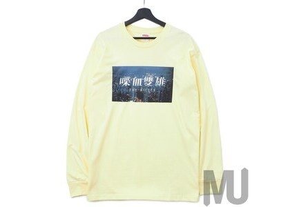 Supreme The Killer L/S Tee Pale Yellowの写真