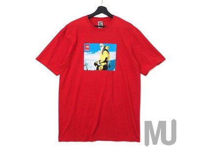 Supreme The North Face Photo Tee Redの写真