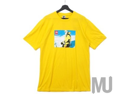 Supreme The North Face Photo Tee Yellowの写真