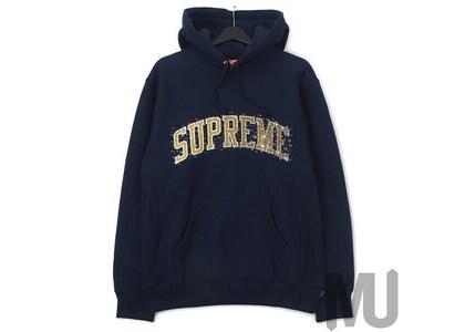 Supreme Water Arc Hooded Sweatshirt Navyの写真