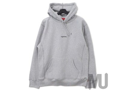 Supreme Trademark Hooded Sweatshirt Heather Greyの写真