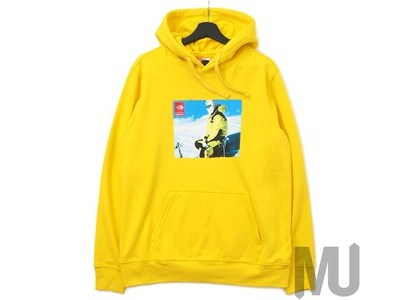 Supreme The North Face Photo Hooded Sweatshirt Yellowの写真