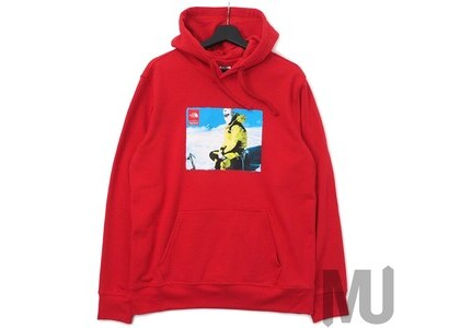 Supreme The North Face Photo Hooded Sweatshirt Redの写真
