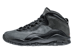 JORDAN 10 RETRO DARK SHADOW/BLACK-TRUE RED