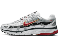 Nike P-6000 White Gold Red Womensの写真