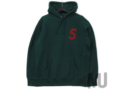 Supreme S Logo Hooded Sweatshirt (FW18) Dark Greenの写真