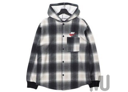 Supreme Nike Plaid Hooded Sweatshirt Blackの写真