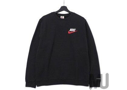 Supreme Nike Crewneck Blackの写真