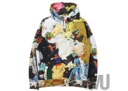 Supreme Mike Kelley More Love Hours Than Can Ever Be Repaid Hooded Sweatshirt Multicolorの写真