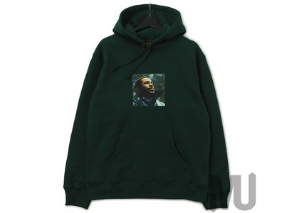 Supreme Marvin Gaye Hooded Sweatshirt Dark Greenの写真