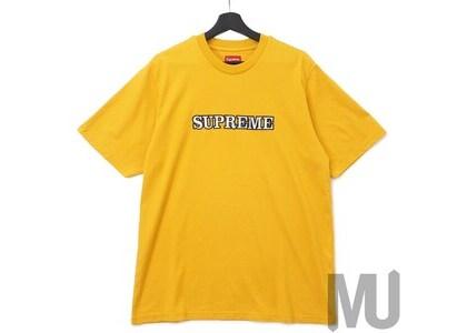 Supreme Floral Logo Tee Goldの写真