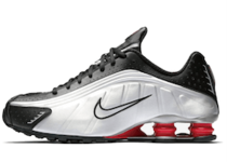 Nike Shox R4 Black Metallic Silver OG