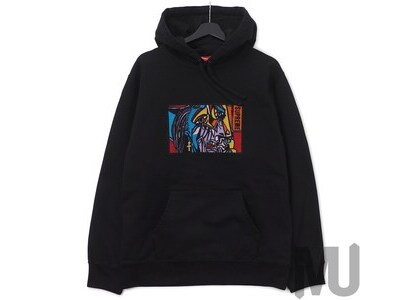 Supreme Chainstitch Hooded Sweatshirt Blackの写真