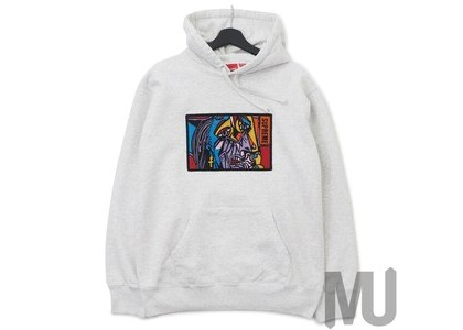Supreme Chainstitch Hooded Sweatshirt Ash Greyの写真