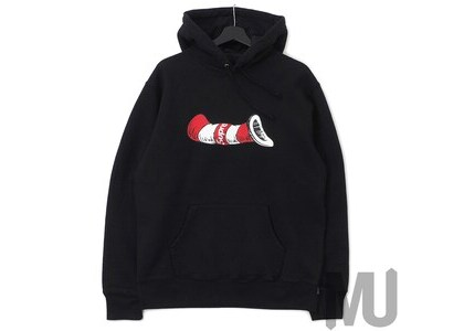Supreme Cat in the Hat Hooded Sweatshirt Blackの写真