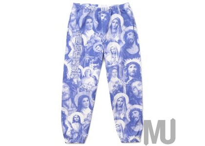 Supreme Jesus and Mary Sweatpant Purpleの写真