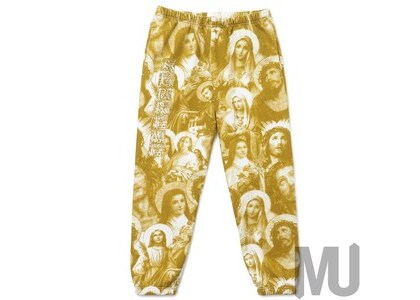 Supreme Jesus and Mary Sweatpant Goldの写真