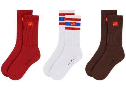 Travis Scott x McDonalds CJ Arches Sock Pack Multiの写真