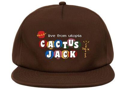 Travis Scott x McDonald's Cj Live From Utopia Hat Brownの写真