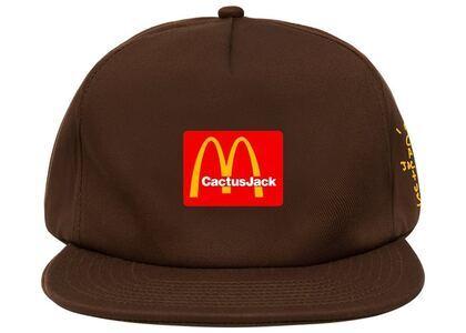 Travis Scott x McDonald's Cj Arches Hat Brownの写真