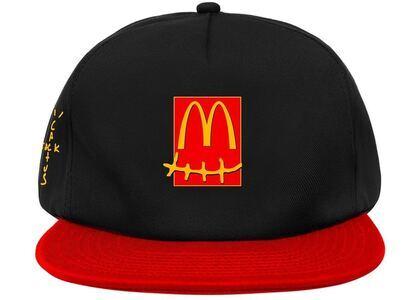 Travis Scott x McDonald's Smile Hat Black/Redの写真