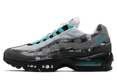 "AIR MAX 95 ATMOS ""WE LOVE NIKE"" CLEAR JADEの写真"