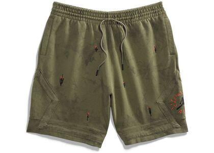 Travis Scott × Nike Jordan Washed Suede Shorts Oliveの写真