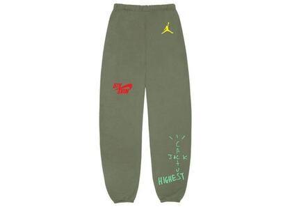 Travis Scott × Nike Jordan Cactus Jack Highest Sweatpant Oliveの写真