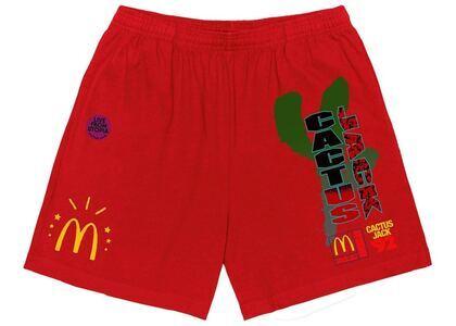 Travis Scott x McDonald's All American '92 Shorts Redの写真