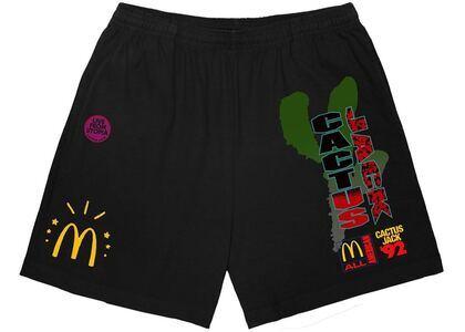 Travis Scott x McDonald's All American '92 II Shorts Blackの写真