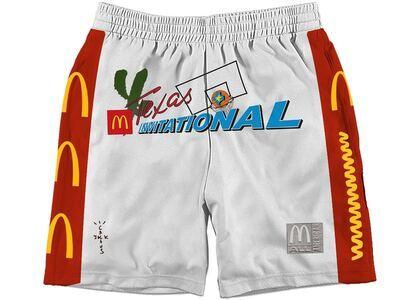 Travis Scott x McDonald's Cactus Jack All American Shorts Whiteの写真