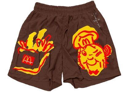 Travis Scott x McDonald's Illustration II Shorts Brownの写真