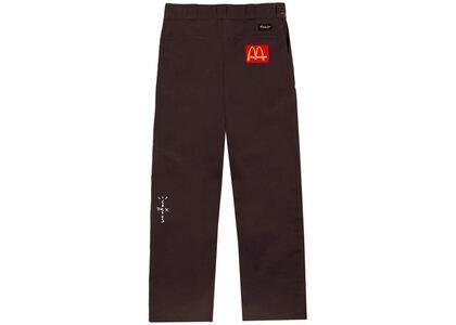 Travis Scott x McDonald's Billions Served Work Pants Brownの写真