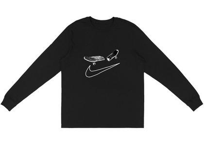 Travis Scott × Nike SB Cactus Jack Longsleeve T-Shirt I Blackの写真