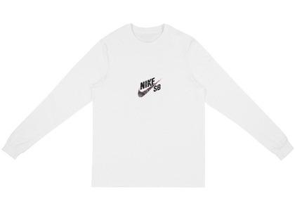 Travis Scott × Nike SBCactus Jack Longsleeve T-Shirt Whiteの写真