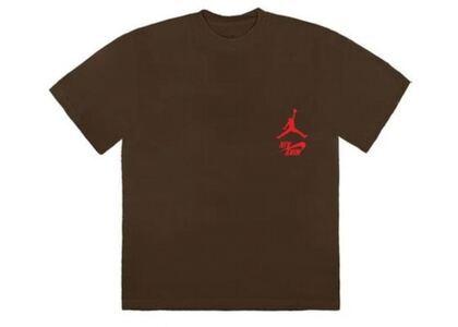 Travis Scott × Nike Jordan Cactus Jack Highest T Shirt Brownの写真