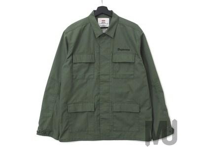 Supreme Hellraiser BDU Shirt Oliveの写真