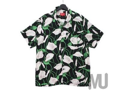 Supreme Lily Rayon Shirt Blackの写真