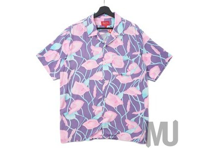 Supreme Lily Rayon Shirt Purpleの写真