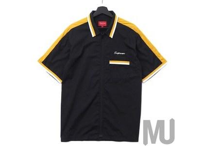 Supreme Zip Up Work Shirt Blackの写真