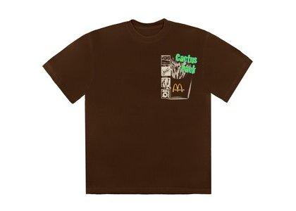 Travis Scott x McDonald's Cactus Pack Vintage Promo T-Shirt Brownの写真